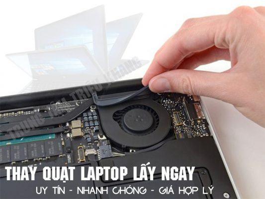 Thay quạt laptop macbook giá rẻ tại hcm