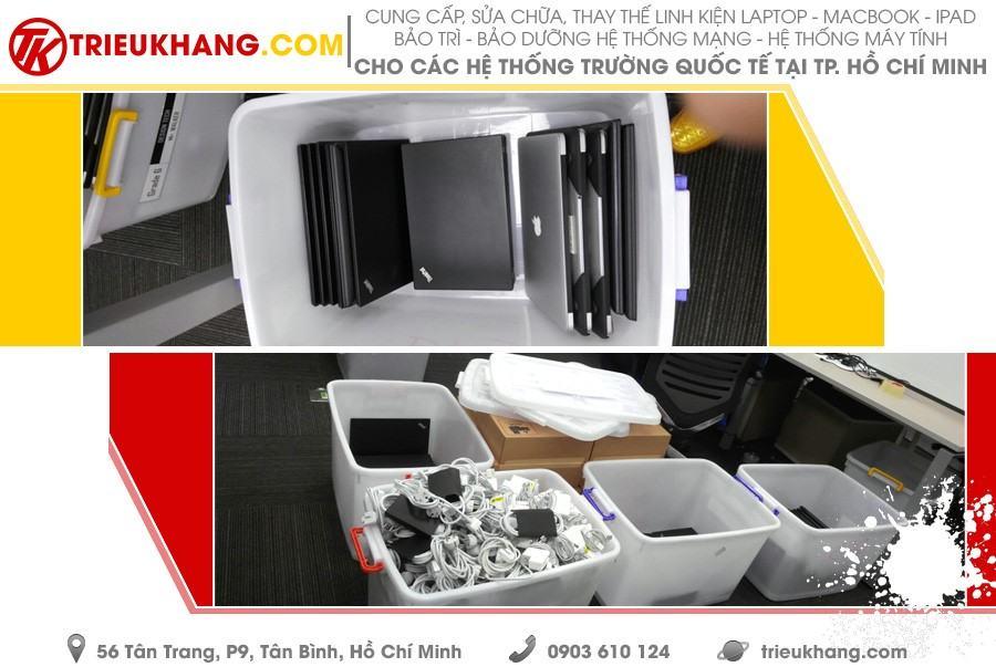 Triệu Khang cung cấp máy tính Laptop và linh phụ kiện cho Trường Quốc tế Thành phố Hồ Chí Minh (ISHCMC)