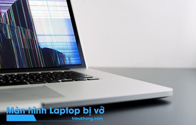 laptop không lên hình do màn hình vỡ