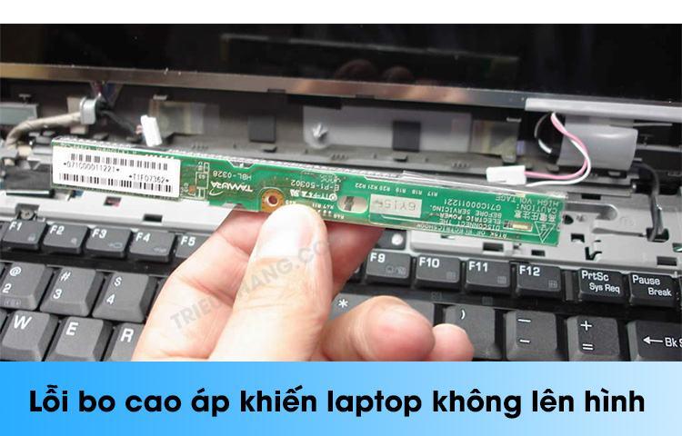 lỗi cao áp nguyên nhân khiến laptop không lên hình