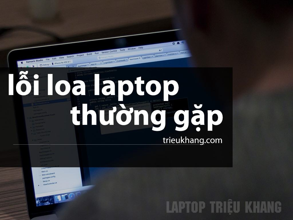 Những lỗi loa laptop thường gặp