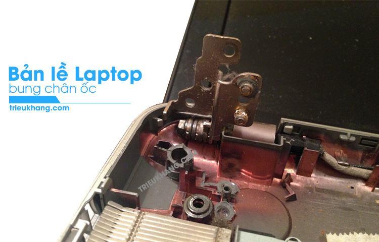 Sửa bản lề laptop uy tín lấy liền tại hcm