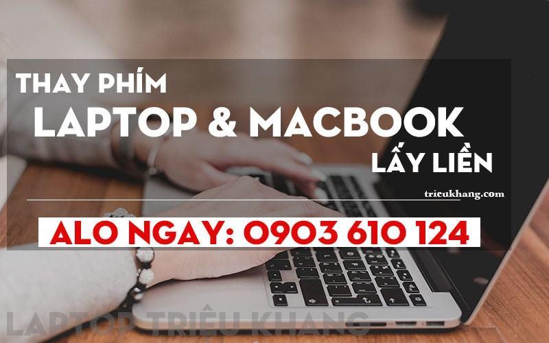 thay bàn phím laptop lấy liền