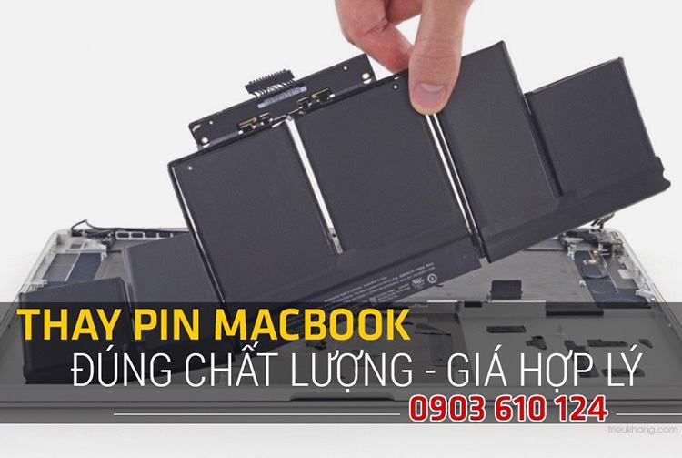 thay pin macbook tại hcm