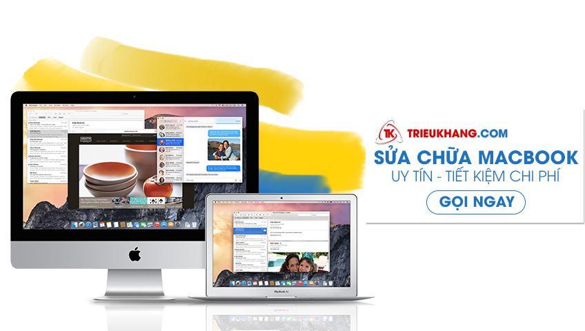 Sửa chữa macbook uy tín tại Hồ Chí Minh