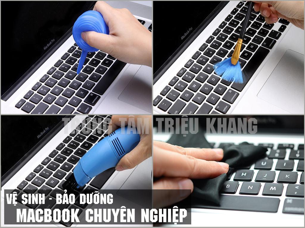 Vệ sinh bảo dưỡng laptop định kì tại Triệu Khang