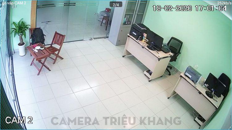 lắp đặt camera ip wifi quan sát văn phòng