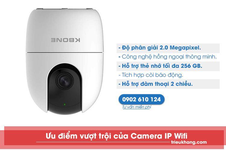 Camera ip wifi kbone giá rẻ