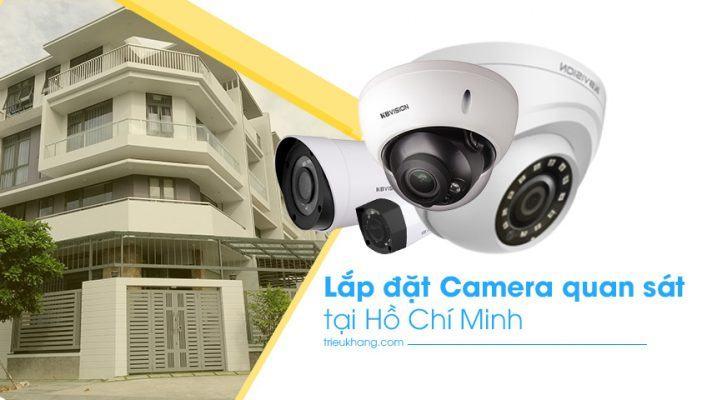 Lắp đắt camera quan sát giá rẻ nhất tại HCM