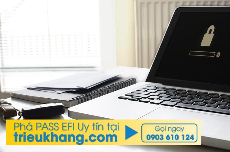 phá pass efi macbook uy tín tại laptop triệu khang