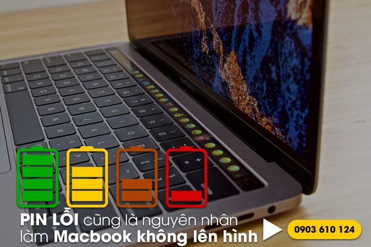sủa lỗi pin macbook giá rẻ