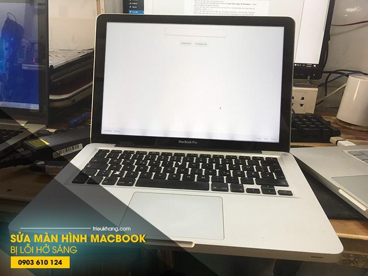 Sửa lỗi màn hình macbook bị hở sáng uy tín nhất thành phố Hồ Chí Minh