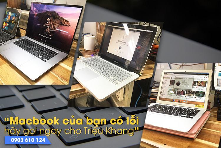 Triệu Khang sửa macbook không lên hình uy tín tại hồ chí minh
