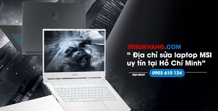 Sửa màn hình laptop msi