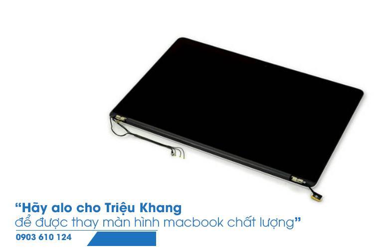 thay màn hình macbook uy tín tại Hồ Chí Minh