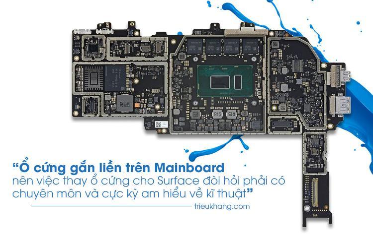 thay ổ cứng surface pro 6 uy tín lấy nhanh