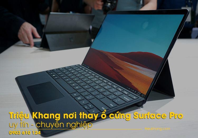 Triệu Khang nơi thay ổ cứng Surface Pro uy tín