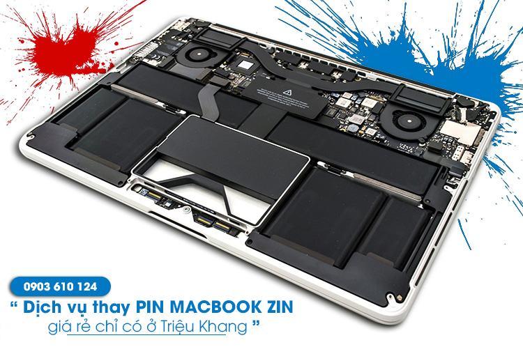 thay pin macbook chính hãng giá rẻ nhất tại hồ chí minh