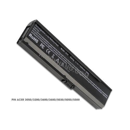 Pin Laptop Acer Aspire 3050,3200, 3600, 3680, 5030,5050, 5500, 5570, 5580