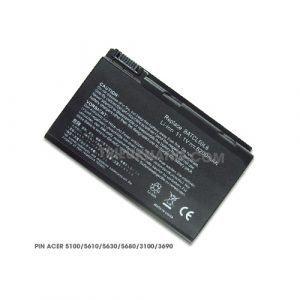 Pin Laptop Acer Aspire 5100, 5610, 5630, 5680, 3100, 3690. Travelmate 2490, 4200, 4230