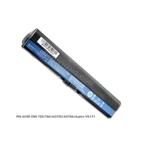 Pin Laptop Acer Aspire One 725, 756, AO725, AO756. Aspire V5-171