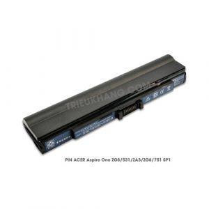 Pin Laptop Acer Aspire One ZG8, 531, ZA3, ZG8, 751,SP1