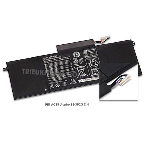 Pin Laptop Acer Aspire S3-392G ZIN