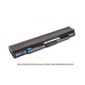 pin laptop acer ONE 753 AO753 series. 1830T, 1830Z TIMELINEX- AL10C31