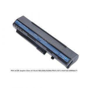 Pin Laptop Aspire One A110, A150, ZG5, D250, P531, 571, KAV10, UM08A71
