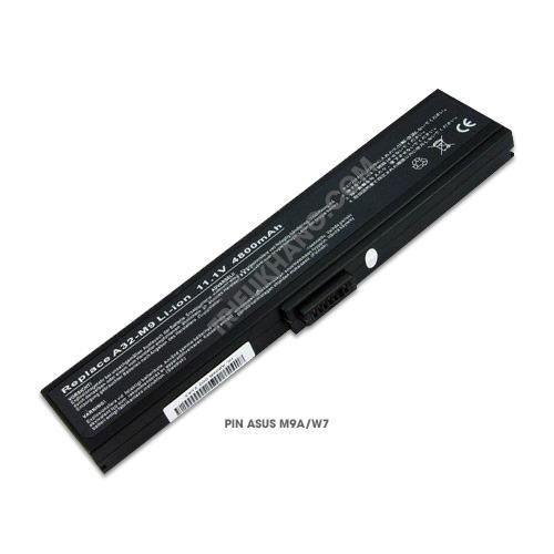pin laptop asus m9a/w7/w7e