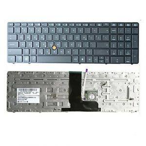Bàn Phím Laptop HP Elitebook 8560W 8570W LED