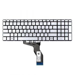 Bàn Phím Laptop HP Pavilion 15-BS 15Q-BD 17G-BR 15-CC US Silver