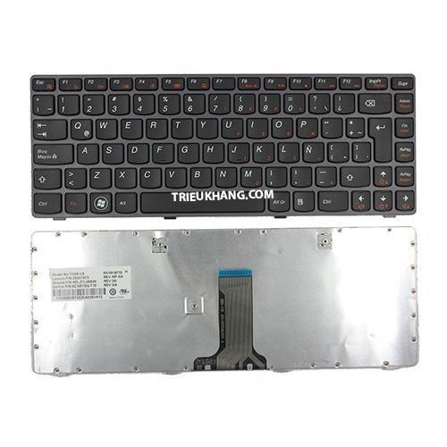 Bàn Phím Laptop Lenovo Ideapaq G470 G475 B470 B475 B490 V470 Z490